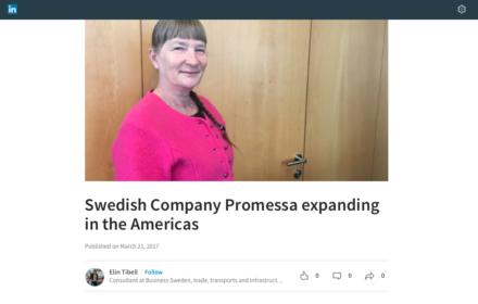 Screenshot of digital article